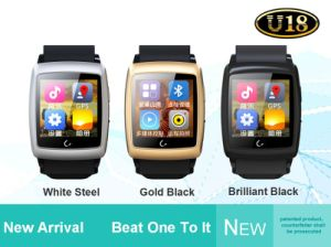 Factory Produced Fashion Camera Watch with GPS&WiFi