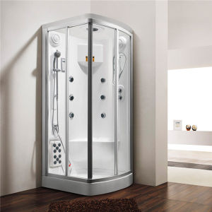 Monalisa Corner Single Bathroom Shower Steam Function (M-8273) pictures & photos