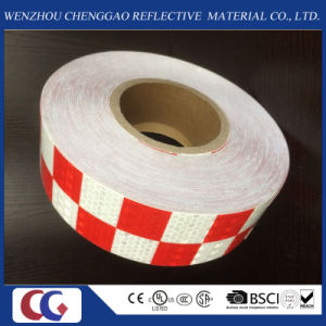 Grid Pattern Reflective Safety Warning Checkered Tape pictures & photos