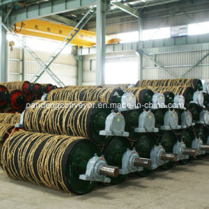 Belt Conveyor Transmission Pulley / Transmission Drum /Steel Drum pictures & photos