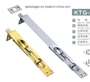 High Quality Stainless Steel Satin Finish Door Latch (KTG-211) pictures & photos