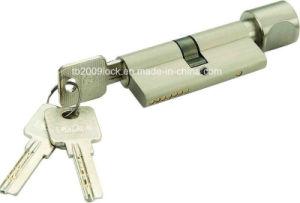 High Quality Brass/Zinc Computer Key Lock Cylinder (C3370-121SN-251SN) pictures & photos