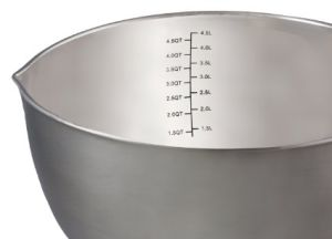 Stainless Steel Non-Slip Mixing Bowls Set with Handles and Pour Spouts pictures & photos