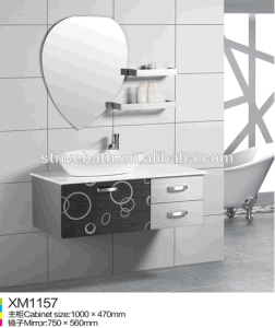 Hot Selling Stainless Steel Bathroom Vanity Cabinet Furniture pictures & photos