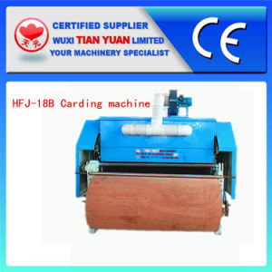 Dust Collection Nonwoven Cotton Carding Machine (HFJ-18) pictures & photos