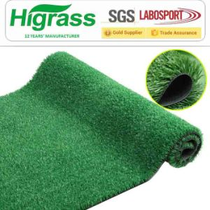 Waterproof and UV Stability Artificial Grass for Football Pitch pictures & photos
