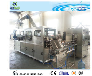 Fully Automatic Barrel Water 5 Gallon Production Line pictures & photos