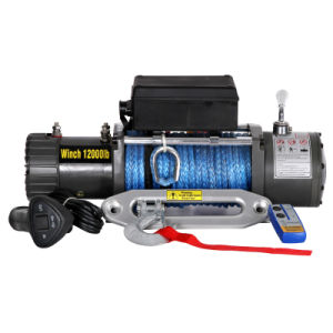 Synthetic Winch 12000lb pictures & photos