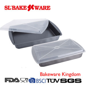 Roaster Pan W/Cake Carrier Carbon Steel Nonstick Bakeware (SL BAKEWARE) pictures & photos