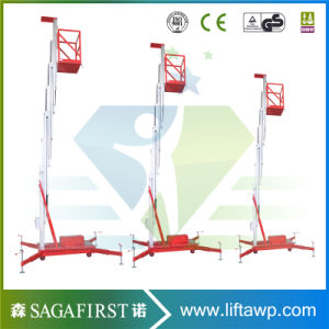 14m Light Weight Mobile Aerial Mast Work Platform pictures & photos
