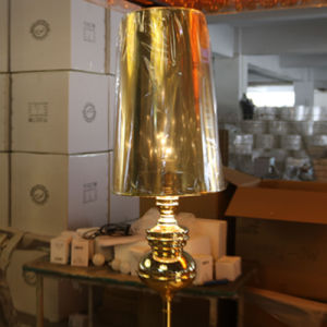 Vintage Decorative Iron Standing Floor Lamp with PVC Shade pictures & photos