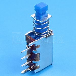 Switch Power Supply, Spdt PCB Push Button Switch (PS-12E01L) pictures & photos