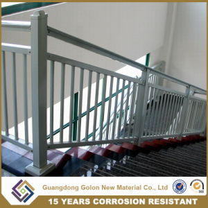 Easy Assembled Low Carbon Steel Aluminum Exterior Stair Railing Balustrade pictures & photos