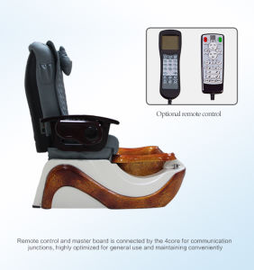 Wooden Pedicure Chair Used in Beauty Salon (C116-17-S) pictures & photos