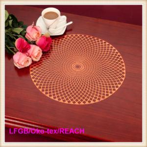 PVC Lace Place Mat / PVC Doilies/ Coaster pictures & photos