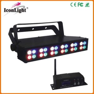 High Power Wireless Battery DMX Stage Wash Bar Light pictures & photos