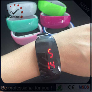 New Lady Bracelet Red Light LED Digital Watch (DC-1356) pictures & photos