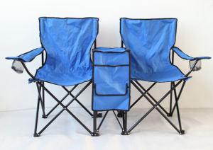 2persons Folding Chair and Desk for Camping, Fishing, Beach pictures & photos