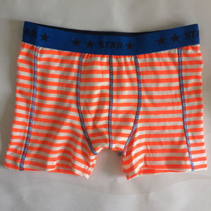 High Quality Pure Cotton Underwear Little Boy Trunks pictures & photos