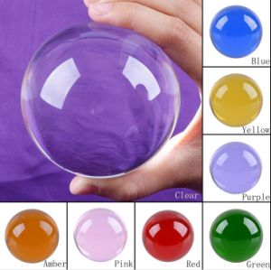 Various Size Decorative Seven Color Crystal Ball pictures & photos
