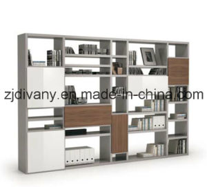 MDF Furniture Wooden Bookcase (SG-08D) pictures & photos