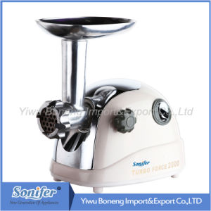 Electric Meat Grinder with Reverse Function, Sf200-603.