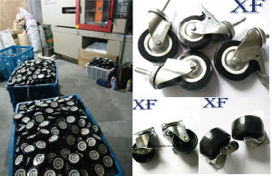 Industrial Heavy Duty Swivel PU Wheel Caster pictures & photos
