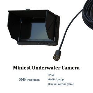 1920 X 1080 High Resolution 1080P Digital Full HD Mini Fishing CCTV Camera Underwater (MD30L) pictures & photos
