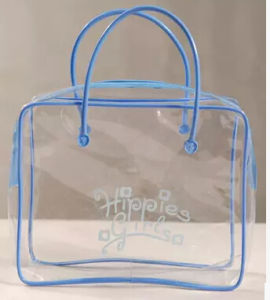 2016 Custom Beautiful Clear PVC Hand Bag pictures & photos