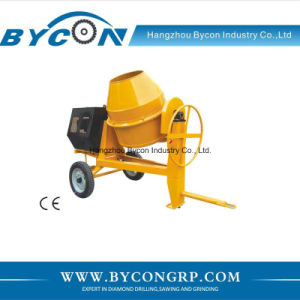 BC-260-1 360 degree swivel concrete mixing machine concrete mixer with diesel engine pictures & photos