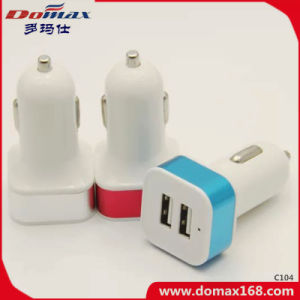 Mobile Phone Gadget 2 USB Connector Tracker Retractable Car Charger pictures & photos