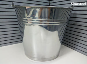 Stainless Steel Thickening Ice Water Bucket pictures & photos