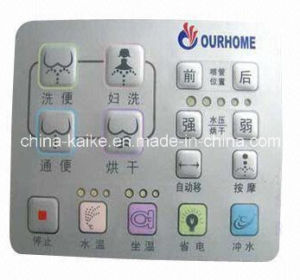 Embossed Membrane Control Switch with Push Button pictures & photos