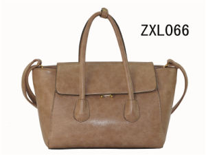 PU Lock Fashion Women Handbag / Ladies Tote Bag (ZXL066) pictures & photos