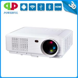 Overhead Projector LED Projector WiFi with 3D, HD, VGA, Andorid pictures & photos