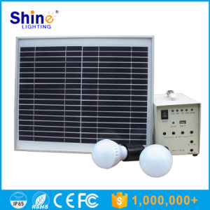 15W Solar Power System for Home Lighting pictures & photos