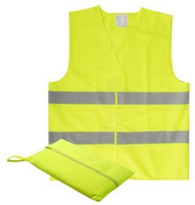 100% Polyester High Visibility Reflective Vest Traffic Safety Vest pictures & photos
