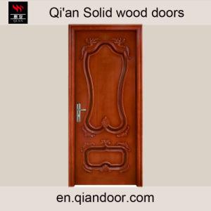Black Walnut Solid Wood Main Entrance Door pictures & photos