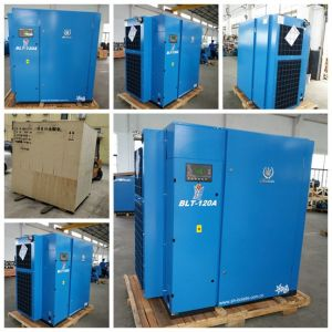 90kw Low Noise Electric Screw Air Compressors pictures & photos