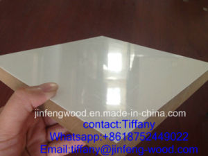 Jf-Wood Factory Offer UV Coated Melamine MDF pictures & photos