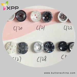 Fashion Polyester Shirt Button Dtm Color pictures & photos