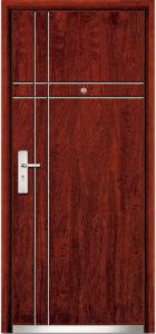 Steel Wooden Interior Door (WX-SW-102) pictures & photos