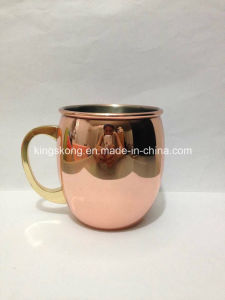 Drinking Cold Copper Moscow Mugs for Vodka Smirnoff pictures & photos