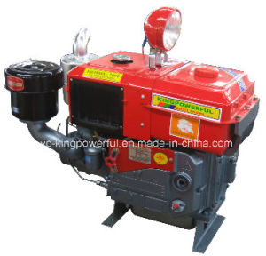 China Good Diesel Engine Supplyer Jdde Brand New Power Zh1130nl with Radiator Cooled and with Light pictures & photos