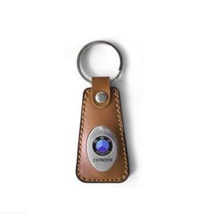 Leather Key Ring, Custom Keychain Woth Logo (GZHY-KA-009) pictures & photos