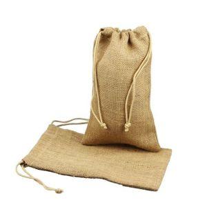 Customized Cheap Natural Jute Bag Manufactures pictures & photos