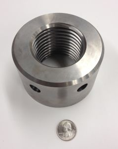 Small Stainless Steel Threaded Tube Spacer, Threaded Connector pictures & photos