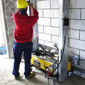 Construction Auto-Positioning System Concrete Plaster Machine pictures & photos
