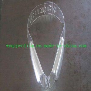 Clear Rigid PVC Film for Garment Accessories Collar Insert