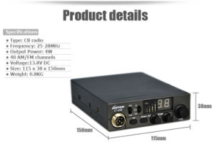Am/FM CB Radio Transceiver Luiton Newest Lt-298 pictures & photos